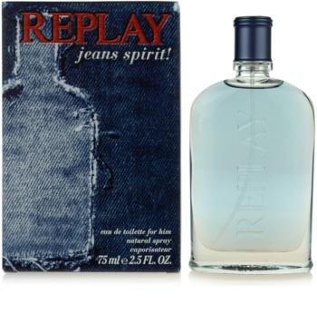 Replay Jeans Spirit! For Him eau de toilette para hombre 75 ml