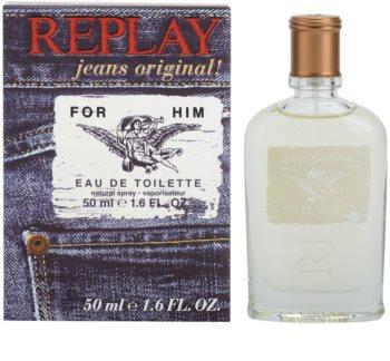Replay Jeans Original! For Him toaletna voda za muškarce