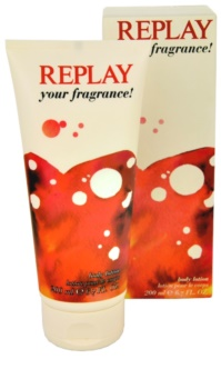 Replay Your Fragrance! For Her lait corporel pour femme