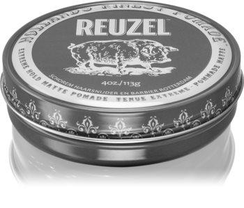 Reuzel Hollands Finest Pomade Extreme Hold помада для волосся з матуючим ефектом
