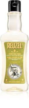 Reuzel Tea Tree 3 в 1 шампоан, балсам и душ гел за мъже