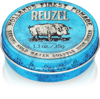 Reuzel Hollands Finest Pomade Strong Hold pomada de cabelo com fixação forte
