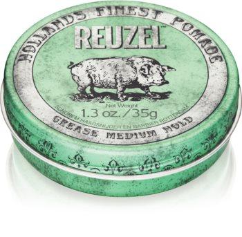 Reuzel Hollands Finest Pomade Grease помада за коса средна фиксация