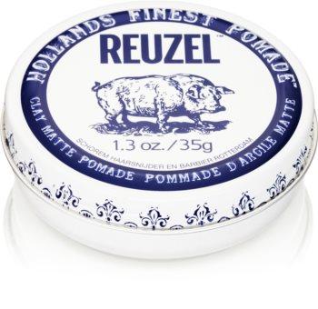 Reuzel Hollands Finest Pomade Clay pasta moldeadora con efecto mate