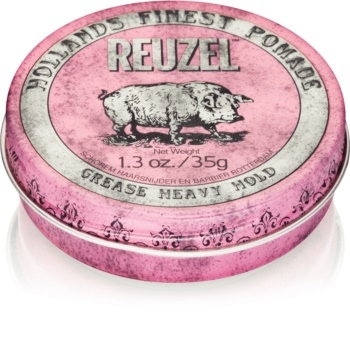 Reuzel Hollands Finest Pomade Grease Hair Pomade Strong Firming