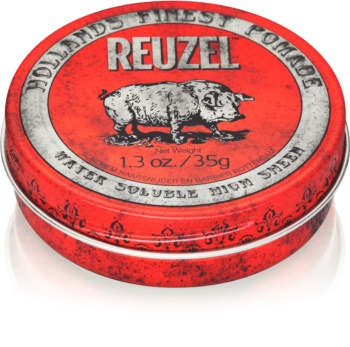 Reuzel Hollands Finest Pomade High Sheen pomada para el cabello con brillo intenso