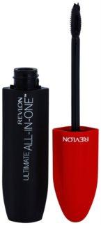 Revlon Cosmetics Ultimate All-In-One™ dúsító, hosszabbító szempillaspirál, mely szétválasztja a pillákat