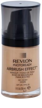 Revlon Cosmetics Photoready Airbrush Effect™ fond de teint liquide SPF 20