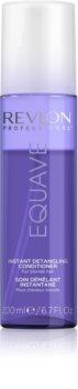 Revlon Professional Equave Blonde condicionador sem enxaguar em spray para cabelo loiro e grisalho