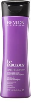 Revlon Professional Be Fabulous Hair Recovery кремообразен шампоан за много суха коса