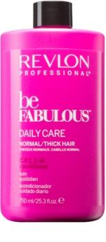 Revlon Professional Be Fabulous Daily Care balzám pro normální až husté vlasy