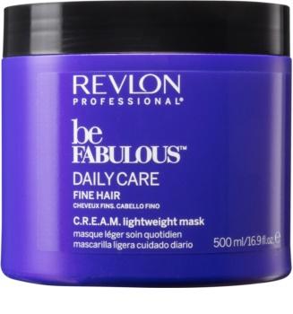 Revlon Professional Be Fabulous Daily Care maseczka regenerująca i nawilżająca do włosów delikatnych