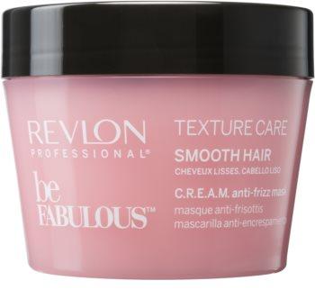 Revlon Professional Be Fabulous Texture Care feuchtigkeitsspendende und glättende Maske