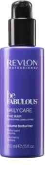 Revlon Professional Be Fabulous Daily Care latte idratante per capelli volumizzante e rinforzante