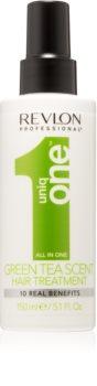 Revlon Professional Uniq One All In One Green Tea φροντίδα χωρίς ξέβγαλμα σε σπρέι