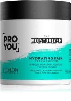 Revlon Professional Pro You The Moisturizer Kosteuttava Ja Ravitseva Naamio Kaikille Hiustyypeille