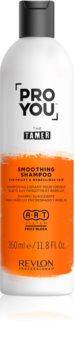 Revlon Professional Pro You The Tamer Gladmakende Shampoo  voor Onhandelbaar en Pluizig Haar