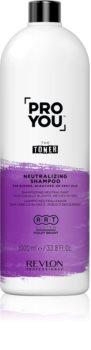 Revlon Professional Pro You The Toner șampon pentru neutralizarea tonurilor de galben pentru părul blond şi gri