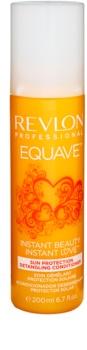 Revlon Professional Equave Sun Protection condicionador sem enxaguar em spray para cabelo danificado pelo sol