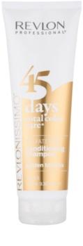 Revlon Professional Revlonissimo Color Care šampon in balzam 2 v 1 za srednje in temno blond lase