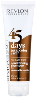Revlon Professional Revlonissimo Color Care Shampoo And Conditioner 2 In 1 For Brown Hair Shades