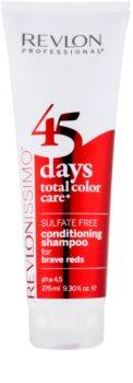 Revlon Professional Revlonissimo Color Care Shampoo und Conditioner 2 in 1 für rötliche Tönungen der Haare