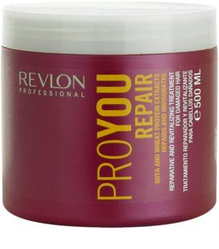 Revlon Professional Pro You Repair mascarilla para cabello dañado, químicamente tratado