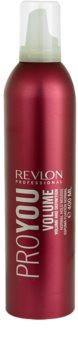 Revlon Professional Pro You Volume espuma fijadora para fijación normal