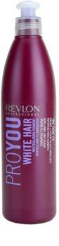 Revlon Professional Pro You White Hair shampoing pour cheveux blonds et gris