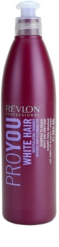 Revlon Professional Pro You White Hair Shampoo For Blonde And Grey Hair