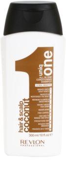 Revlon Professional Uniq One All In One Coconut posilňujúci šampón pre všetky typy vlasov