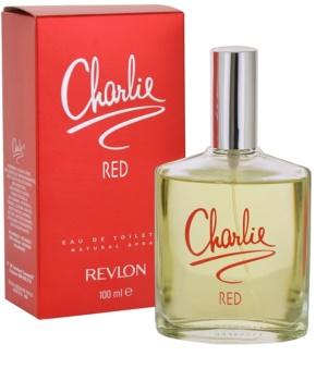 Revlon Charlie Red Eau de Toilette Naisille