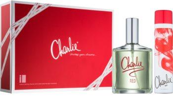 Revlon Charlie Red coffret II.