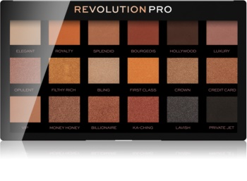 Revolution PRO Regeneration paletka očných tieňov