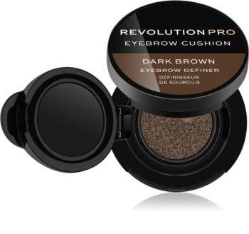 Revolution PRO Eyebrow Cushion фарба для брів у губці