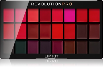 Revolution PRO Lip Kit Palette mit Lippenstiften