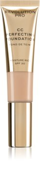 Revolution PRO CC Perfecting maquillaje hidratante con efecto alisante SPF 30