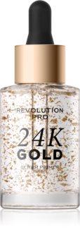Revolution PRO 24k Gold bază pentru machiaj iluminatoare