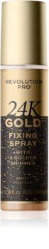 Revolution PRO 24k Gold spray fixant illuminateur à l'or