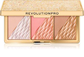 Revolution PRO Crystal Luxe palette visage entier