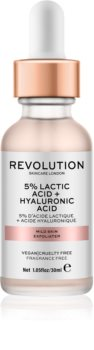 Revolution Skincare 5% Lactic Acid + Hyaluronic Acid peeling facial