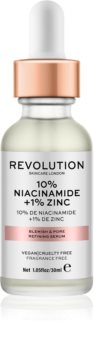 Revolution Skincare 10% Niacinamide + 1% Zinc Seerumi Laajentuneille Huokosille