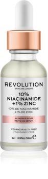 Revolution Skincare 10% Niacinamide + 1% Zinc serum za razširjene pore