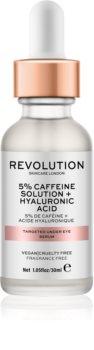 Revolution Skincare 5% Caffeine solution + Hyaluronic Acid ser pentru ochi