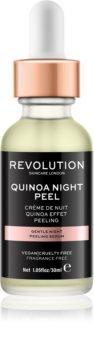 Revolution Skincare Quinoa Night Peel sérum de gommage doux pour la nuit