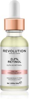 Revolution Skincare 0.2% Retinol sérum pro korekci jemných vrásek