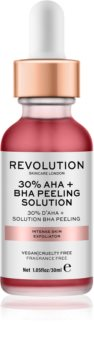 Revolution Skincare 30% AHA + BHA Peeling Solution gommage chimique intense pour une peau lumineuse