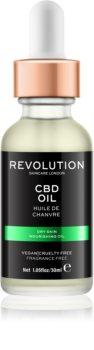Revolution Skincare CBD vyživující olej pro suchou pleť