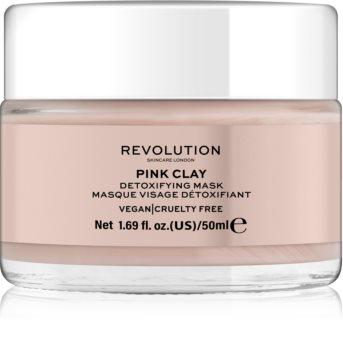 Revolution Skincare Pink Clay Detox-Gesichtsmaske