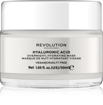 Revolution Skincare Hyaluronic Acid masca hidratanta de noapte facial